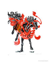 Riderless Horse by AmandaMyers