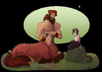 Trade: Genaios and Arcas by Bubba-Buu