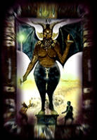XV The Devil by MLinares