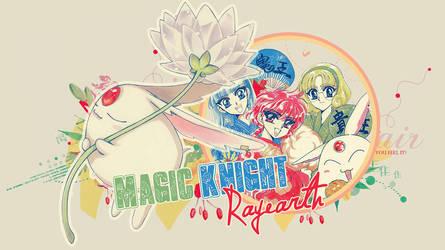 Magic Knight Rayearth Wall by itakomalo
