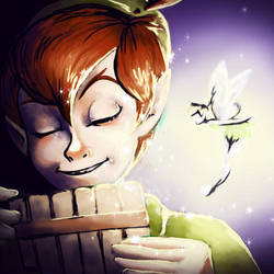 Peter Pan by synthemescal
