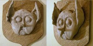 Head of a house elf n. 2 by Kuroi-Miyoshi