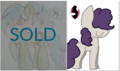 MLP OC adopts 2 [Open] by StarVagrant