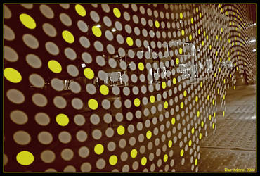 Yellow Dots by Aderet