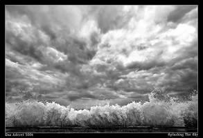 Splashing The Sky by Aderet