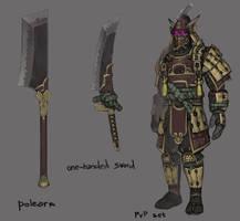 Wow pvp set concept by Kostja08