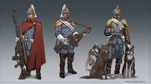 Royal Guard by cakeypigdog