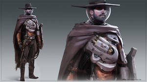 space cowboy by cakeypigdog