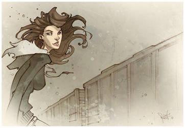 Trackside. by Fezat1