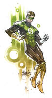 MkvsDC. Green Lantern by Fezat1