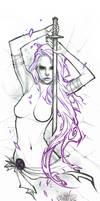Psylocke. by Fezat1