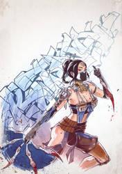 Assassin Kitana. by Fezat1