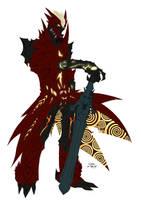 Deviltrigger colored by GravedFish