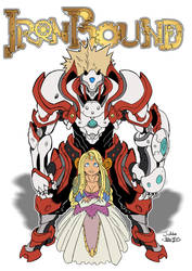 Ironbound cover by GravedFish