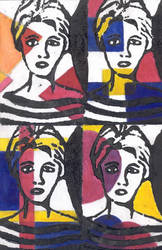 Edie Sedgwick Print by rahel14