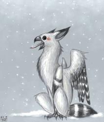 Winter Alpakairel by Ziali