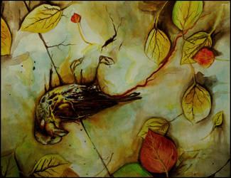 Fallen Sparrow by ScreamingOtter