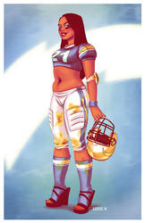 Charger Girl by EddieHolly