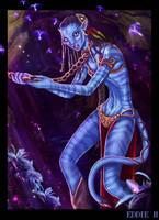 Neytiri in the Metal Bikini by EddieHolly