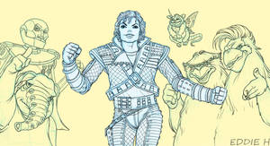 Captain EO Lines by EddieHolly