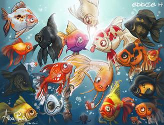 Goldfish by EddieHolly