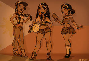 Pinays by EddieHolly