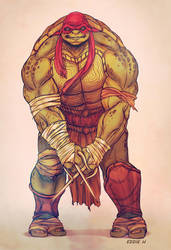 New Raphael -TMNT by EddieHolly