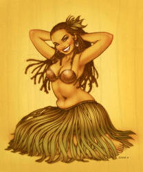 Hula La by EddieHolly