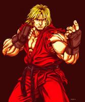 Ken - Street Fighter by EddieHolly