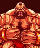 Zangief - Street Fighter by EddieHolly