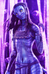 Neytiri of the Navi by EddieHolly