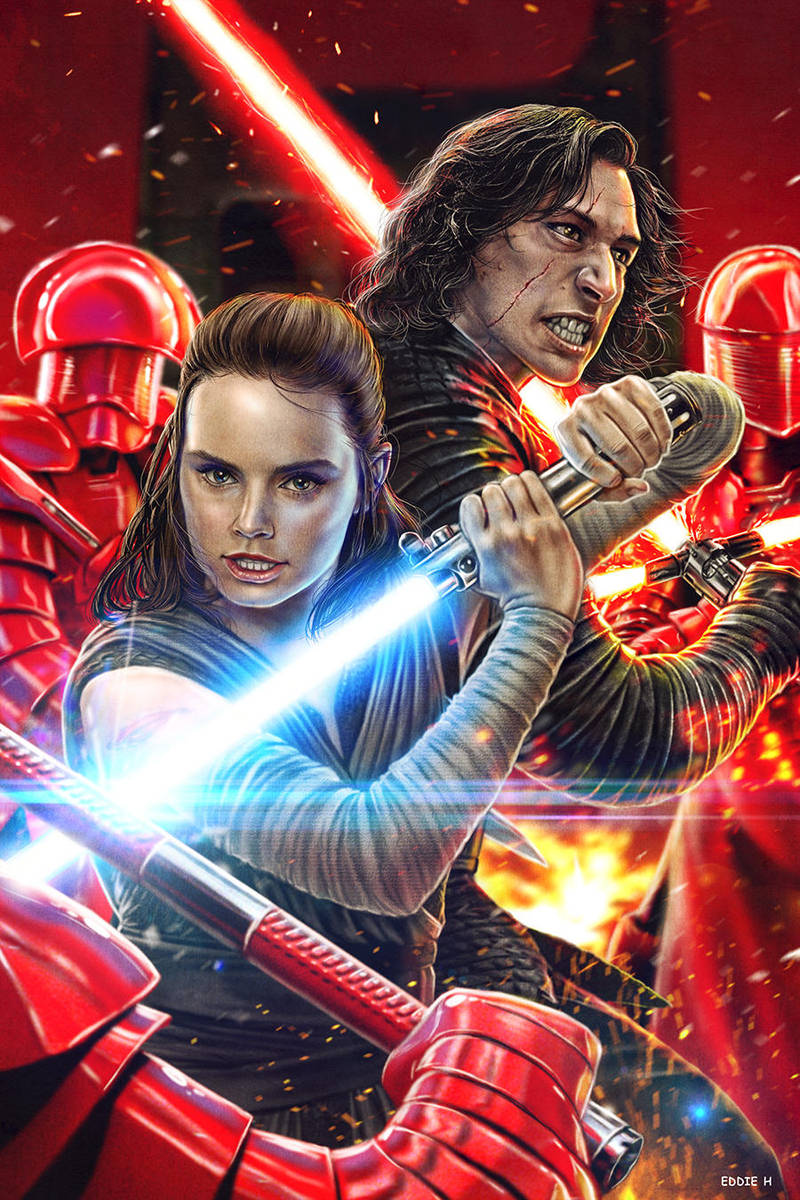 Reylo - Kill it if you have to by EddieHolly
