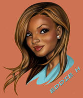 Christina Milian by EddieHolly