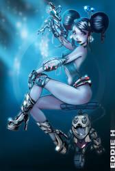 Cyber Girl by EddieHolly