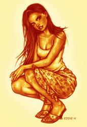 Adriana Lima by EddieHolly