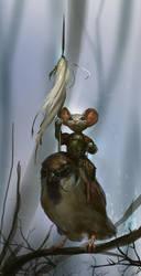 The Sparrow Rider by Mischeviouslittleelf
