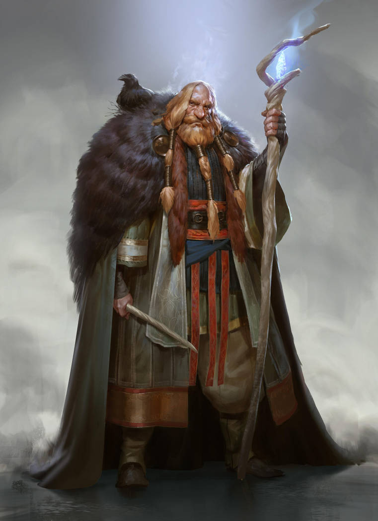 Torbjorn Jotunhorn2 by Mischeviouslittleelf