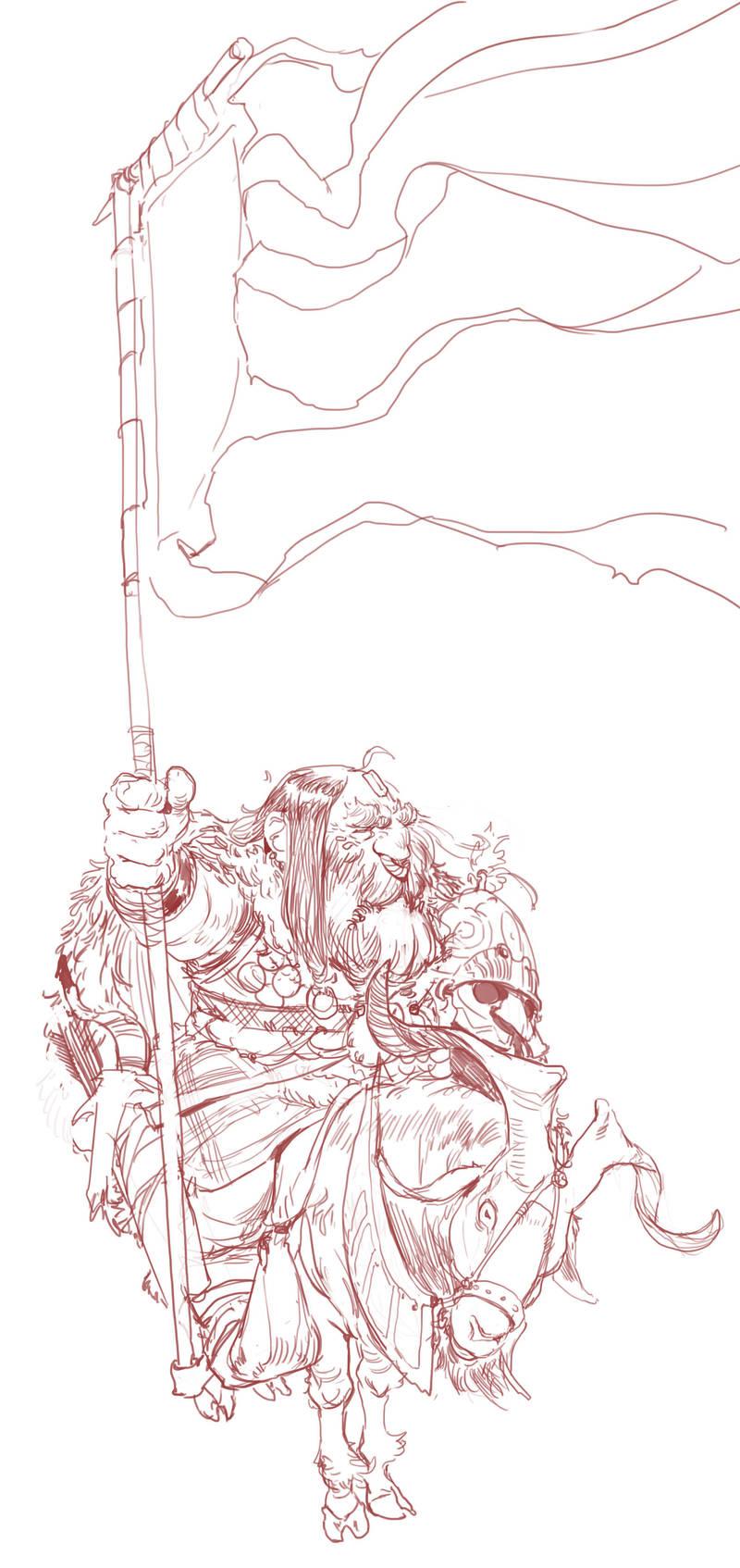 Goat Guard by Mischeviouslittleelf