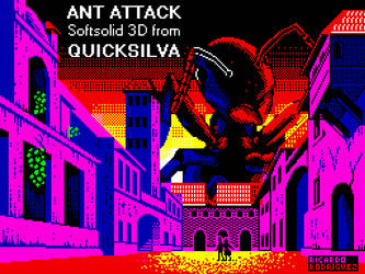 Ant Attack - Spectrum loading screen by Ricardo73