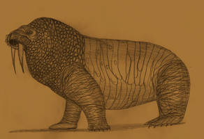 Walrus giganticus by Adiraiju