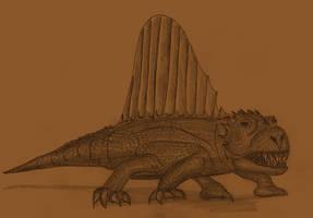 Dimetrodon fairbankensis by Adiraiju