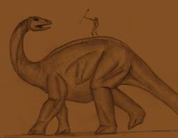 Brontosaurus Julioensis by Adiraiju