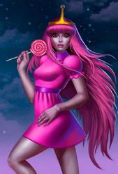 Princess Bubblegum by Drujart