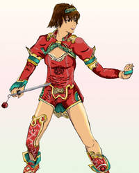 Xianghua is colored by baklavah-x