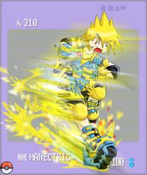 Pokemon Gijinka - Manectric by RadenWA