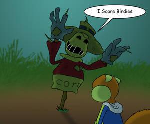 I Scare Birdies by SpongicX