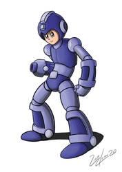 fanart: Megaman by boishred