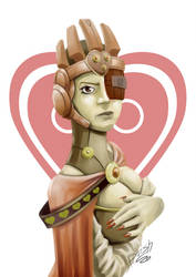 Queen of hearts by boishred