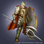 Heavy Armor Warrior -Advanced level03- by Nekomancerz