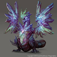 Crystal Dragon -Advanced lvl03- by Nekomancerz